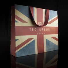 Ted Baker Luxury Carrier Bag, printed with a vintage print inspired by our own Jubilee bag