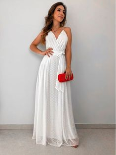 Long White Prom Dress with Bow, Shop plus-sized prom dresses for curvy figures and plus-size party dresses. Ball gowns for prom in plus sizes and short plus-sized prom dresses for Lace Evening Dresses, Ball Dresses, Ball Gowns, Summer Dresses, Dress With Bow, White Dress, Casual Dresses, Formal Dresses, Wedding Dresses