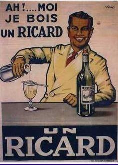 vintage Ricard ad