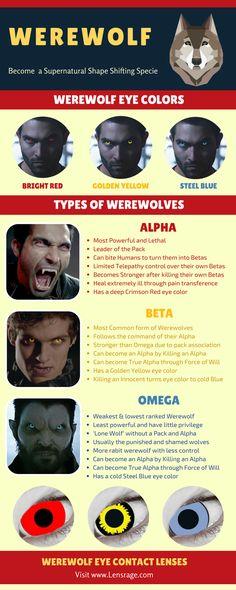 Werewolf eye color contact lenses infographic @websteach <== (Y) Follow #werewolf #eye #lenses #contact_lenses #eye_lenses #color #girls #girls_lenses #women #boys #colors #halloween #makeup #halloweenmakeup