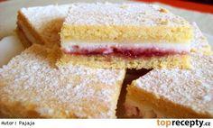 Linecký tvarohový koláč s pikantní marmeládou Perfect Cheesecake Recipe, Cheesecake Recipes, Marmalade Recipe, Czech Recipes, Salty Foods, Sweets Cake, Something Sweet, Desert Recipes, Creative Food