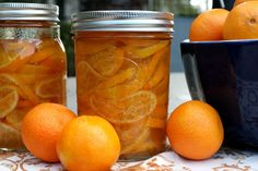 Candied Clementines...these look easy and super yummy!
