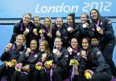 USA Women's Water Polo:  Gold