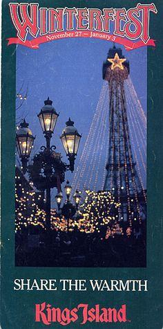 1987 Winterfest Guide, Kings Island