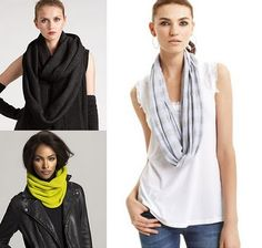Obsessed with Infinity Scarves. I've purchased quite a few lately.