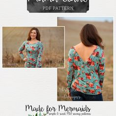 Mama Claire Two-Way Dolman Top