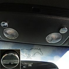 Dress up the otherwise boring plastic map light buttons on your 2015-2016 Mustang V6 GT or Ecoboost with UPR's Billet Map Light Button Covers with GT logo. These covers press on over the stock buttons in seconds and give your interior a clean look while accenting your interior. CNC Machined from 6061 Billet Aluminum for a perfect fit including the Diamond cutter final pass giving it the best finish possible.
