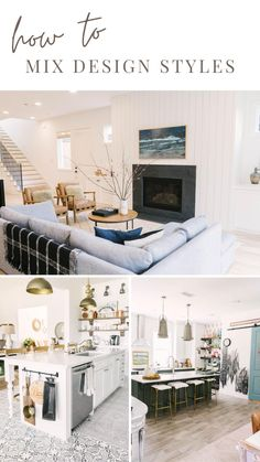 How to Mix Design Styles - Tips to Find Your Style for Your Home  - Farmhouse - Modern - Coastal - Boho - MCM - Mid Century - Eclectic - Rustic