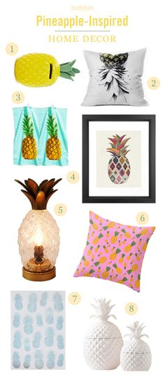 15 Pineapple Products That Will Brighten Your Home!