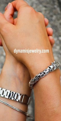 Mens Silver Jewelry, Sterling Silver Bracelets, Handmade Sterling Silver, Anklet, Bracelets For Men, Jewelry Collection, Biker, Men's Fashion, Handmade Jewelry
