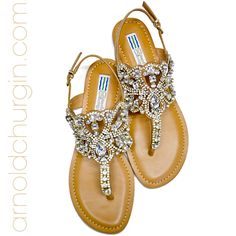 Arnold Churgin Almeda #bling #sandals #flats #fashionblogger #canadianfashion #summer Bling Sandals, Beautiful Shoes, High Heels, Footwear, Flats, Summer, Women, Fashion, Cute Wedges Shoes