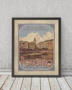 Portofino | STAMPA | Vimages - Immagini Originali in stile Vintage