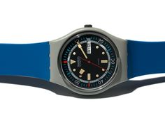 Swatch Calypso Diver GM701 (with Date: weekday and day) 1985 spring/summer Originals Gent * Swatch ^* Watch