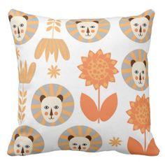 2112 lions throw pillow