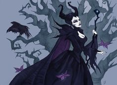 """Maleficent"" by IrenHorrors.deviantart.com on @deviantART"