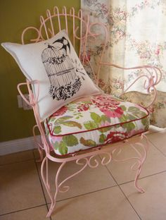 Sillon de hierro - Vintage chair | La Tienda Deco&Ideas ...