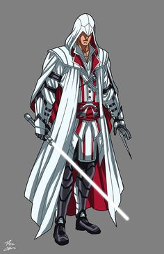 Assassins Creed Jedi commission by phil-cho on DeviantArt Noragami, Star Wars Characters, Fantasy Characters, Marvel Dc, Marvel Heroes, Assassins Creed Series, Assassins Creed Comic, Superhero Design, Star Wars Fan Art