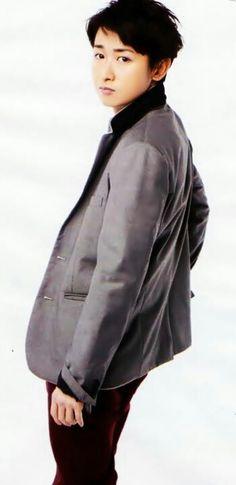 Satoshi Ohno You Are My Soul, Ninomiya Kazunari, Japanese Boy, Boy Bands, Windbreaker, Raincoat, Singer, Entertainment, Blue