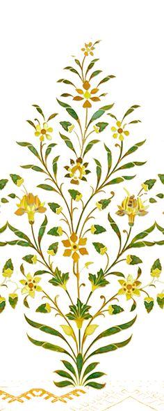 Indian Traditional Paintings, Mughal Paintings, Paisley Flower, Hanuman, Stencil Designs, Botanical Art, Textile Prints, Islamic Art, Pattern Art