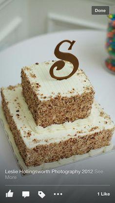 Italian Cream Grooms Cake