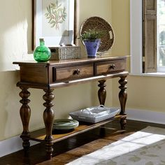 Pine Island Dark Pine Sideboard Hillsdale Furniture Sideboards Buffets & Sideboards Kitche
