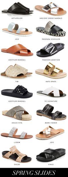 Spring Sandals - Slides