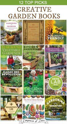 12 Books to Make Your Creative Garden Fabulous 12 Books to Make Your Creative Garden Fabulous #gardening #gardenbooks #gardengiftideas #books #recommendedreading
