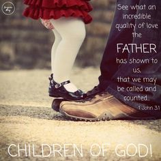 We can call Him Father!♥️ The Creator of the universe thought us worthy enough to be His children! He wants to have a relationship with…
