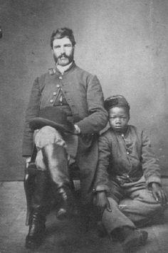 the American Civil War -- Confederate use of blacks black Confederates African-American Confederates