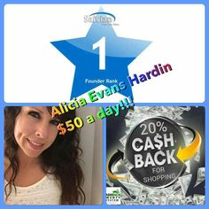 Another star in the house. Stop watching and  join the cash back revolution  http://cashbacktwenty.com/shopnsave20/save.html