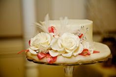 VINTAGE LOOK BRIDE'S CAKE TOP