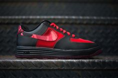 """Nike Lunar Force 1 Fuse Leather """"Red Camo"""""""