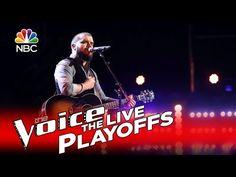 "The Voice 2016 Josh Gallagher - Live Playoffs: ""Colder Weather"" - YouTube"