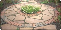 using polymeric sand for flagstone