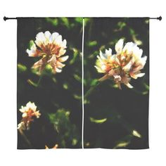 """Clover Drawing 60"""" Curtains on CafePress.com"""