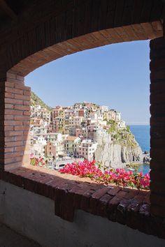 ✮ Cinque Terre Town of Manarola, Italy