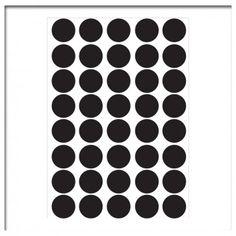 geboortestickers en kraampaketten Muursticker set stippen dots geboortestickers en kraampaketten