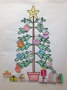 Math Coach's Corner A Christmas Forest of Numbers!