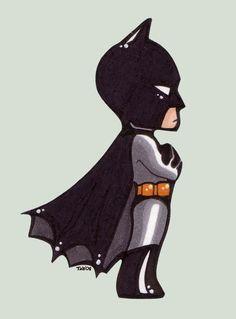 the cutest little batman