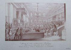 Eröffnung des ersten österr. Reichstages 22 Juli 1848 FRANZ WERNER Faksimile