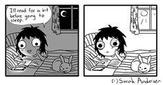 Me every night!! #books #read #allnighter