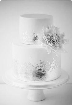 Ideen zum Jahrestag Ideas for the anniversary 25th Wedding Anniversary Cakes, Anniversary Cake Designs, Anniversary Decorations, Anniversary Ideas, Silver Anniversary, Blush Wedding Cakes, Wedding Cake Photos, Wedding Cake Flavors, Wedding Desserts