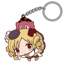 Puella Magi Madoka Magica : The Movie Tomoe Mami Pinched keychain COSPA in Collectibles, Animation Art & Characters, Japanese, Anime | eBay