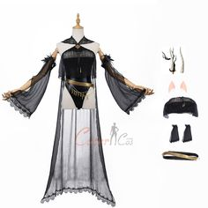 Shining Costume Arknights Cosplay For Halloween And Christmas Party Game Costumes, Cosplay Costumes, Shine Costume, Party Online, Mephisto, Cosplay Dress, Womens Size Chart, Party Items, Online Sales