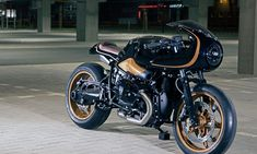 Looking for a BMW cafe racer? Our cafe racer archives feature everything from classic R and K series examples through to modern bikes like the R Nine T. Bmw Cafe Racer, Cafe Racer Build, Cafe Racer Motorcycle, Cafe Racers, Bmw Ninet Racer, Bmw Motorcycles, Custom Motorcycles, Custom Bikes, Honda Cb750
