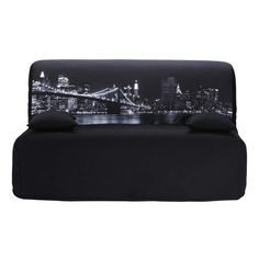 Fodera del divano letto grigio scuro ELLIOT