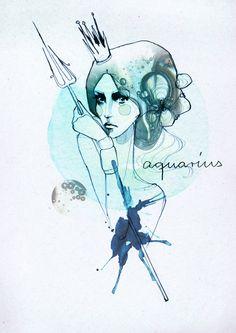 Signos del zodiaco ilustrados | Blog de diseño gráfico 9Musas