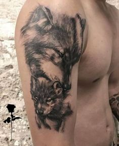 50 Of The Most Beautiful Wolf Tattoo Designs The Internet Has Ever Seen jaw-dropping wolf tattoo © tattoo artist Edan Weis 💙🐺💙🐺💙🐺💙 Wolf Tattoo Forearm, Wolf Tattoo Sleeve, Sleeve Tattoos, Tattoo Wolf, Wolf Tattoos Men, Animal Tattoos, Tribal Wolf Tattoos, Celtic Tattoos, Wolf Tattoo Design