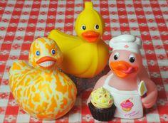 Culinary Rubber Ducks