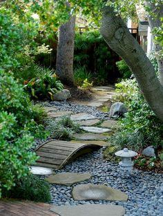Front Yard Rock GardenLandscaping Ideas (75)